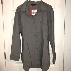 NWT The North Face Long Sleeve Button Down